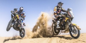 Marc Coma and Kurt Caselli - Red Bull KTM Factory Team - Action