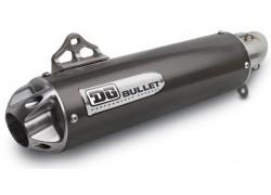 Detalle del silencioso Bullet de la marca DG