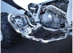 "Parrillas Aluminio RACING ""R1"" XRW montadas en Honda"