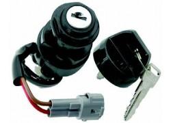 Contacto con llave para Yamaha YFA125 Breeze 02-04, YFM350 Bruin 2004, YFM350 Grizzly 04-08, YFM350 Warrior 02-05, YFM350 Wolverine 07-09, YFM660 01-05, YFM700 07-14