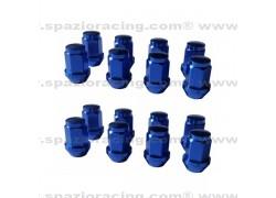 Tuercas conicas aluminio M10x1.25 Azul
