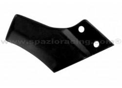 Guía trasera de cadena de transmisión Negra Yamaha YFZ350 Banshee