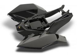 Plástico Trasero MAIER Negro Suzuki LT-R450 06-09