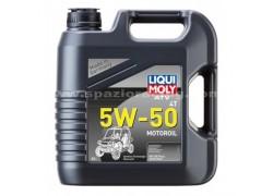Aceite 4 Tiempos 100% sintético 5W50 ATV QUAD SxS LIQUI MOLY (4 Litros)