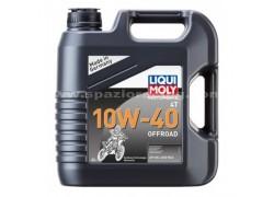Aceite 4 Tiempos 100% sintético 10W40 OFF ROAD LIQUI MOLY (4 Litros)