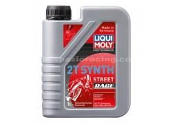 Aceite 2 Tiempos 100% sintético STREET Race LIQUI MOLY (1 Litro)