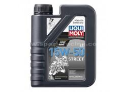Aceite 4 Tiempos sintético 15W50 STREET LIQUI MOLY (1 Litro)