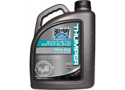 Aceite 4 Tiempos Thumper Racing Synthetic Ester Blend 15W50 BEL-RAY (4 Litros)