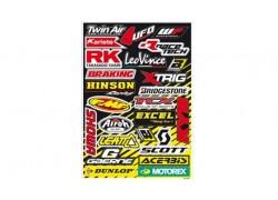 Hoja de adhesivos Sponsor 5076A BLACKBIRD