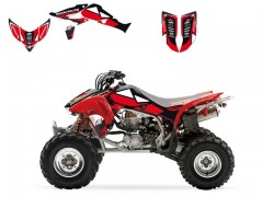 Kit Adhesivos DREAM 2 Blackbird Racing Honda TRX450 R 04-15