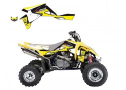 Kit Adhesivos Amarillo DREAM 2 Blackbird Racing Suzuki LT-R450 06-15