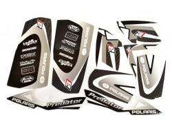 Kit Adhesivos DREAM 2 Blackbird Racing Polaris 500 Predator 04 07, 500 OUTLAW 08-09