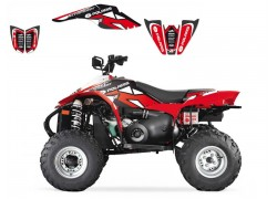 Kit Adhesivos DREAM 2 Blackbird Racing Polaris 500 Scrambler 04-09