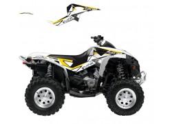 Kit Adhesivos DREAM 2 Blackbird Racing Can Am Renegade 500 07-15, Renegade 800 07-15