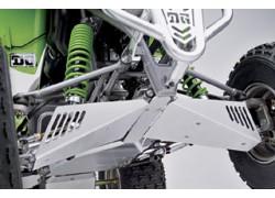 """Protectores para trapecios """"Fat Series"""" DG instalados en el Kawasaki KFX700"""