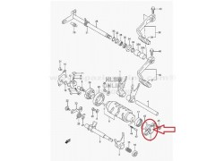 Sensor punto muerto Suzuki LT-Z400 03-08