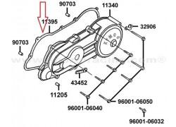 Junta tapa variador Kymco MXU50 06-07, MXU50 SR 06-07, Maxxer 50 03-07