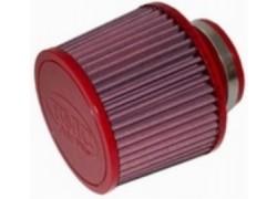 Filtro de aire universal cónico Ø52mm x 152mm. BMC