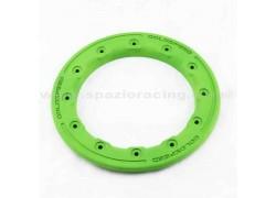 Aro Beadlock de policarbonato Verde 9'' para llanta GOLDSPEED