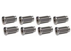 8 Tuercas planas M-10x1.25. 98-007 ITP
