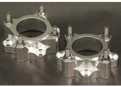 Separadores traseros OUTSIDE Suzuki LT-F250 Ozark 02-12, LT-A 400 Eiger 02-08, LT-F450 King Quad 07-16, LT-A500 Vinson 02-06. LT-A700 King Quad 06-08, LT-A750 King Quad 08-16