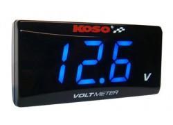 BA024B00 Voltímetro SUPER SLIM KOSO