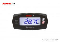 Reloj de temperatura KOSO Mini 4 Race