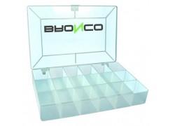 Caja clasificadora BRONCO de 18 compatimentos