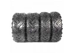 Combo 4 Neumáticos A024 25x8-12 y 25x10-12 SUN-F