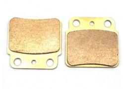 Pastillas de freno trasero Sinterizadas Suzuki LT-Z400 03-12, LT-R450 06-10