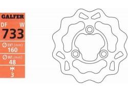 "Disco de freno delantero ""Wave"" GALFER Suzuki LT-R450 06-11"