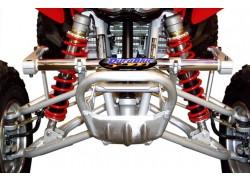 Barra estabilizadora (Anti-Roll/Sway Bar) DURABLUE montada en un Honda TRX450 R
