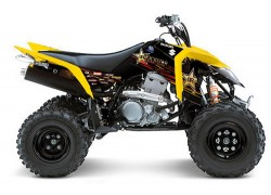 Kit adhesivos ROCKSTAR Suzuki LT-Z400 03-08