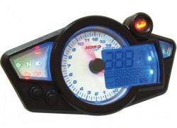 "Marcador Cockpit Digital (Blanco/Azul) ""RX1N"" KOSO"
