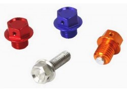 TTornillo/Tapón magnético para drenaje aceite motor ZETA RACING