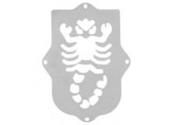 Placa para defensa delantera SCORPION
