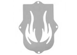 Placa para defensa delantera FLAMES