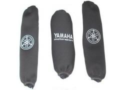 Fundas amortiguadores Negras Yamaha YFM660 Raptor 01-05