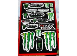 Hoja de adhesivos MONSTER ENERGY