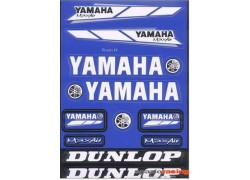 Hoja de adhesivos YAMAHA