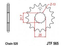 Piñon 15 dientes Yamaha YFZ450 04-13, YFM660 Raptor 01-05