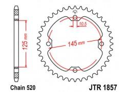 Corona Yamaha YFZ450 04-13, YFZ450R 09-13, YFZ450X 10-11