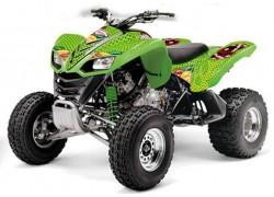 Kit Adhesivos Vegas Baller AMR Kawasaki KFX700.