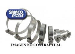 Kit de abrazaderas para tubos radiador SAMCO Suzuki LT-R450 06-17