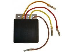 Regulador de voltaje Polaris 500 Scrambler 2x4 01-02, 500 Scrambler 4x4 01-02, 500 Sportsman RSE 99-00, 500 Sportsman HO 2001, 500 Sportsman 98-00, 500 Worker 99-01
