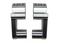 Torretas universales (22mm.) para elevar el manillar (28mm.) SP RACING
