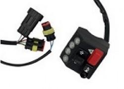 Mando izquierdo de luces con testigos para Quad y ATV Yamaha