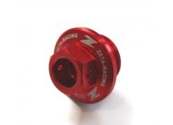 Tapón llenado aceite motor Rojo ZETA RACING Kawasaki KFX450R 08-09