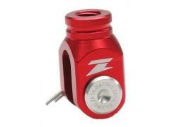 Leva empujadora del pedal freno trasero roja ZETA RACING Honda TRX400 EX, TRX450 R/ER 04-09