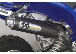 Detalle del silencioso Bullet de la marca DG montado